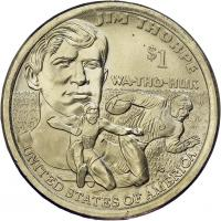 USA 1 Dollar 2018 Indianerin / Jim Thorpe