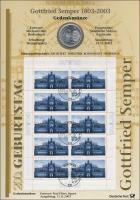 2003/6 Gottfried Semper - Numisblatt