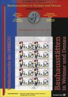 2004/1 Bauhausstätten in Weimar und Dessau - Numisblatt