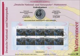 2004/3 Deutsche National- und Naturparke: Wattenmeer - Numisblatt
