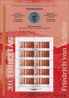 2005/2 Friedrich von Schiller  - Numisblatt