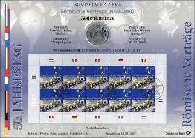 2007/2 Römische Verträge - Numisblatt