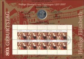 2007/5 Elisabeth von Thüringen - Numisblatt