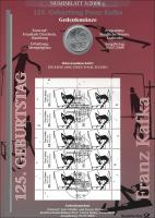 2008/3 Franz Kafka - Numisblatt