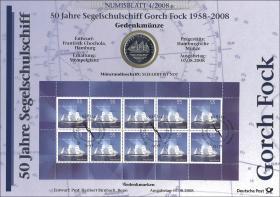 2008/4 Gorch Fock - Numisblatt