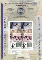 2009/1 Leichtathletik WM - Numisblatt