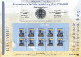 2009/3 Luftfahrtausstellung - Numisblatt