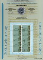 2010/1 Robert Schumann - Numisblatt