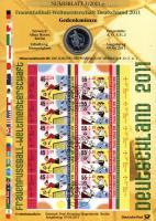 2011/3 Frauenfußball WM 2011 - Numisblatt