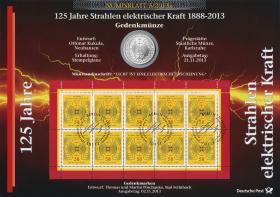 2013/5 125 Jahre Strahlen elektrischer Kraft - Numisblatt