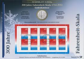 2014/5 300 Jahre Fahrenheit-Skala - Numisblatt