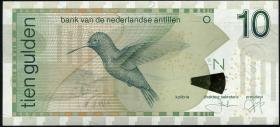 Niederl. Antillen / Netherlands Antilles P.28d 10 Gulden 2006 (1)