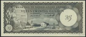 Niederl. Antillen / Netherlands Antilles P.03 25 Gulden 1962 (1)