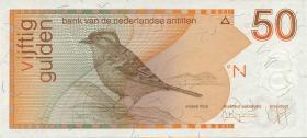 Niederl. Antillen / Netherlands Antilles P.25c 50 Gulden 1994