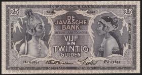 Ndl. Indien / Netherlands Indies P.080b 25 Gulden 7.11.1939 (1)