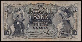Ndl. Indien / Netherlands Indies P.079c 10 Gulden 1939 (1)