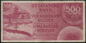 Ndl. Indien / Netherlands Indies P.095 500 Gulden 1946 (3-)