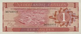 Niederl. Antillen / Netherlands Antilles P.20 1 Gulden 1970