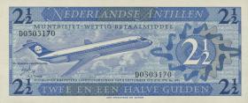 Niederl. Antillen / Netherlands Antilles P.21 2 1/2 Gulden 1970