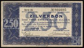Niederlande / Netherlands P.062 2,50 Gulden 1938 (2)