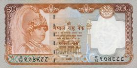 Nepal P.47 20 Rupien (2002) (1)