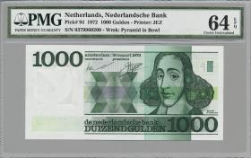 Niederlande / Netherlands P.094 1000 Gulden 1972 (1)