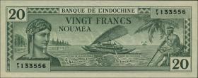 Neu Kaledonien / New Caledonia P.49 20 Francs (1944) (1)