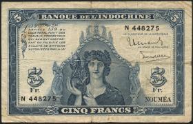 Neu Kaledonien / New Caledonia P.48 5 Francs (1944) (4)