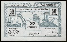 Neu Kaledonien / New Caledonia P.54 50 Centimes 1943 (1)