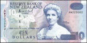 Neuseeland / New Zealand P.178a 10 Dollars (1992-97) (1)