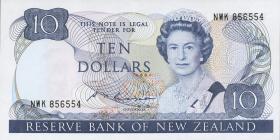 Neuseeland / New Zealand P.172b 10 Dollars (1985-89) (1)
