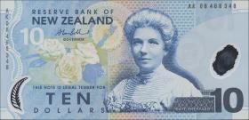 Neuseeland / New Zealand P.186b 10 Dollars (20)06) (1)