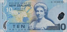 Neuseeland / New Zealand P.186a 10 Dollars (20)02 (1)