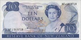 Neuseeland / New Zealand P.172a 10 Dollars (1981-85) (1)