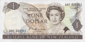 Neuseeland / New Zealand P.169b 1 Dollar (1985-89) (1)
