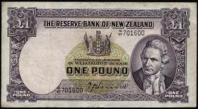 Neuseeland / New Zealand P.159a 1 Pound (1940-55) (3)