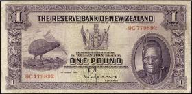 Neuseeland / New Zealand P.155 1 Pound 1934 (4)