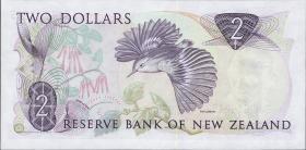 Neuseeland / New Zealand P.170b 2 Dollars (1985-92) (1)