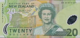 Neuseeland / New Zealand P.187b 20 Dollars (2002) Polymer (1)