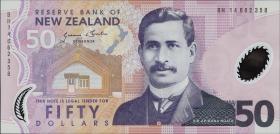 Neuseeland / New Zealand P.188c 50 Dollars (2014) Polymer (1)