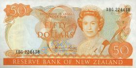Neuseeland / New Zealand P.174a 50 Dollars (1981-85) (1)