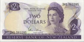 Neuseeland / New Zealand P.164d 2 Dollars (1977-81) (1)