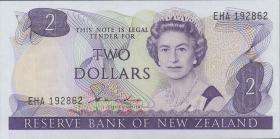 Neuseeland / New Zealand P.170a 2 Dollars (1981-85) (1)