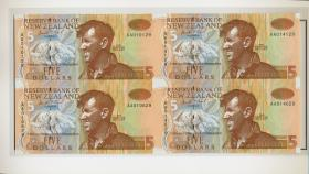 Neuseeland / New Zealand P.177b 5 Dollars 1992 Presentation Pack (1)
