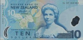 Neuseeland / New Zealand P.186b 10 Dollars (20)07 Polymer (1)
