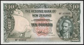 Neuseeland / New Zealand P.161c 10 Pounds (1956-60) (1/1-)