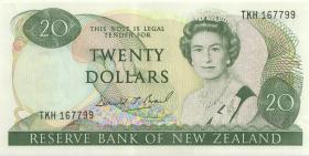 Neuseeland / New Zealand P.173c 20 Dollars (1989-92) (1/1-)