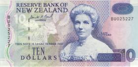 Neuseeland / New Zealand P.182a 10 Dollars (1994) (1)