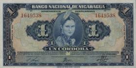 Nicaragua P.090a 1 Cordoba 1941 (1)