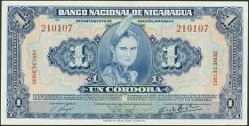 Nicaragua P.091b 1 Cordoba 1951 (1/1-)